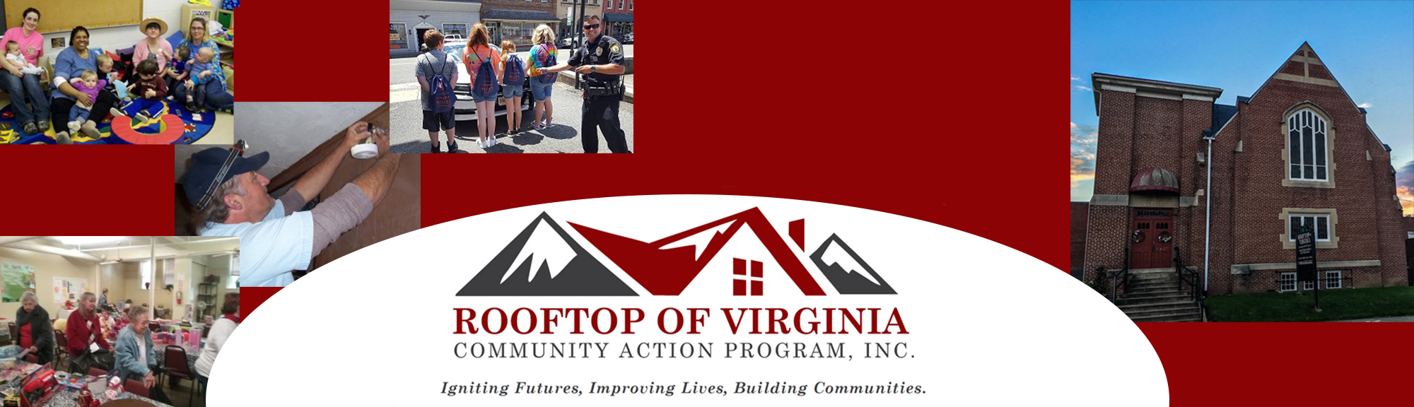 Rooftop of Virginia Community Action Program